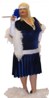 Deluxe Charleston Flapper Costume